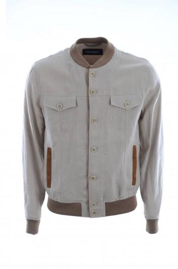 Dolce & Gabbana Men Button Down Jacket - G9ON1T FU4IW