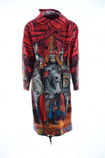 Dolce & Gabbana Men Printed Long Coat - G9OH2T HHMHM