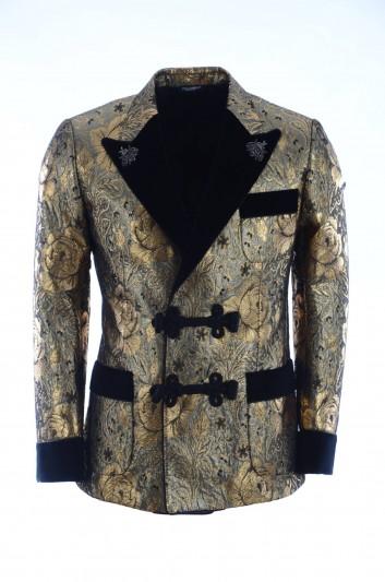 Dolce & Gabbana Men Printed Blazer - G2MA5Z FJM77