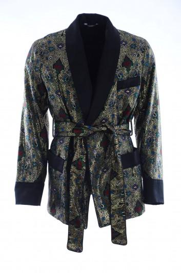 Dolce & Gabbana Chaqueta Estampada Hombre - G006QT HJMC0