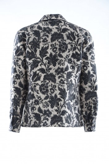 Dolce & Gabbana Camisa Floral Hombre - G5GW1T HJMHB