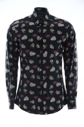 Dolce & Gabbana Camisa Anillos Hombre - G5EJ1T HS5B2