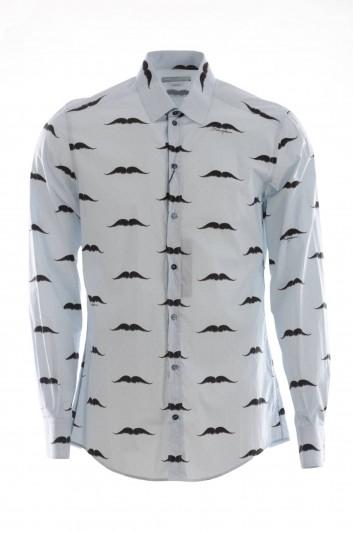 Dolce & Gabbana Camisa Bigotes Hombre - G5EJ1T HS5B1