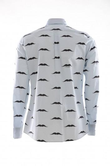 Dolce & Gabbana Men Mustache Shirt - G5EJ1T HS5B1