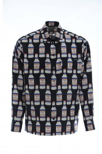 Dolce & Gabbana Men Silk Bottles Shirt - G5FX8T HS12G