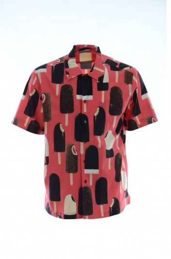 Dolce & Gabbana Camiseta Seda Helados Hombre - G5FX9T FSAXA