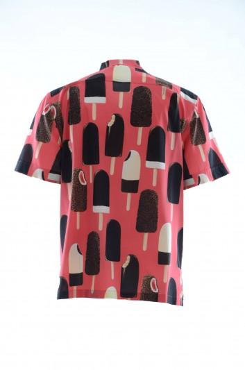 Dolce & Gabbana Men Silk Ice-Cream Shirt - G5FX9T FSAXA