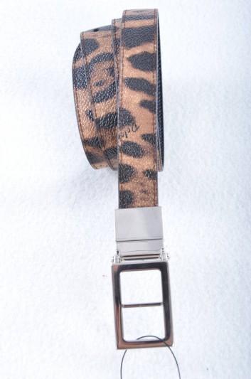 Dolce & Gabbana Women Print Animal Reversible Belt - BE1048 AT963
