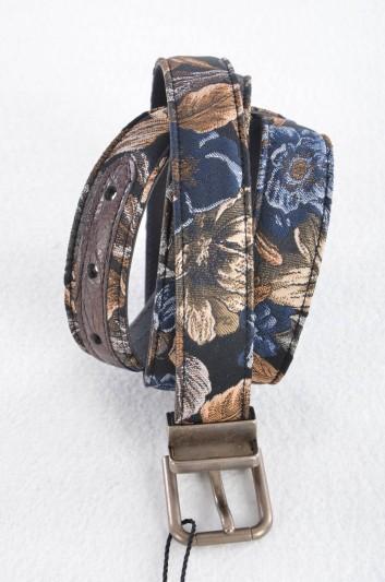 Dolce & Gabbana Cinturón Brocado Hombre - BC3614 A2D88