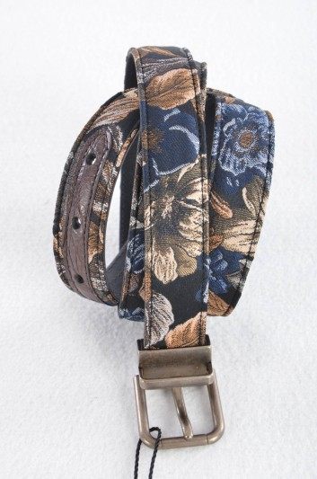Dolce & Gabbana Men Brocade Belt - BC3614 A2D88