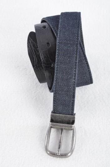 Dolce & Gabbana Cinturón Denim Hombre - BC4066 A2D50