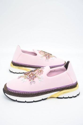 Dolce & Gabbana Women Jewel Sneakers - CK0088 AD663