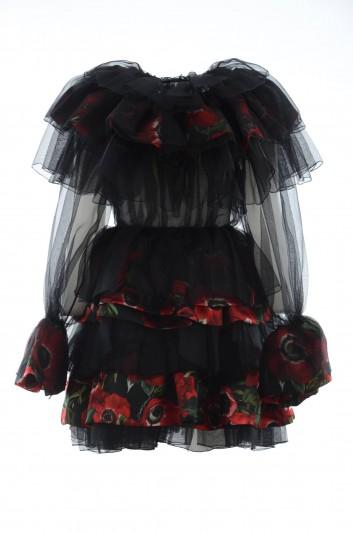 Dolce & Gabbana Women Silk Short Floral Dress - F6E0YT FL1BY