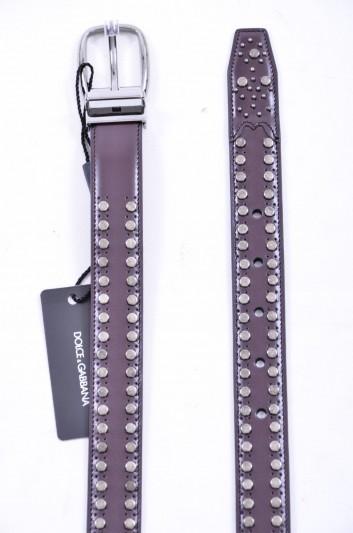 Dolce & Gabbana Cinturón Tachuelas Hombre - BC4125 A1607
