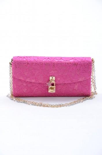 Dolce & Gabbana Women Satin Lace Hand Bag - BB6197 AD435