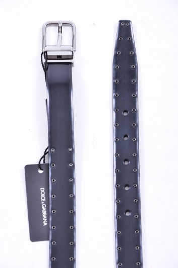 Dolce & Gabbana Cinturón Tachuelas Hombre - BC4113 AC460