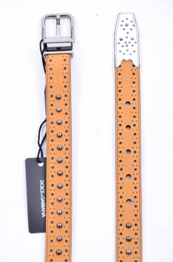 Dolce & Gabbana Men Tacks Belt - BC4124 AB623