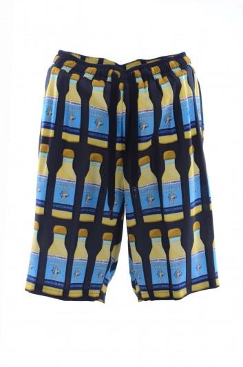 Dolce & Gabbana Men Printed Bermuda - GYOMAT FS8B1