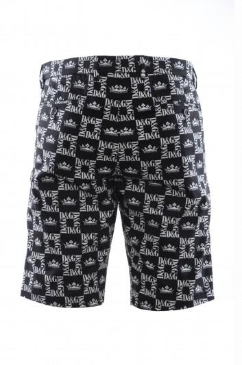 Dolce & Gabbana Men Printed Bermuda - GY6GMT FSFIG