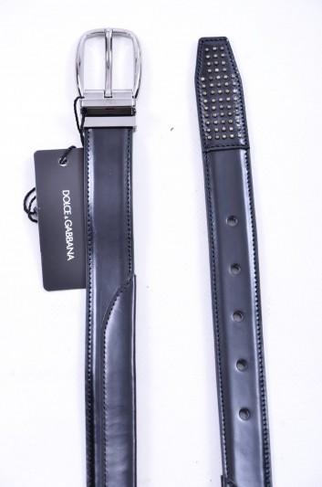 Dolce & Gabbana Cinturón Tachuelas Hombre - BC4131 AI147