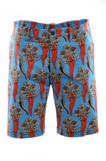 Dolce & Gabbana Men Printed Bermuda - GY6GMT FSFIN