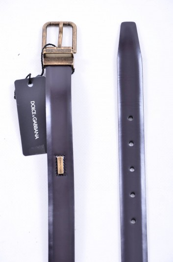 Dolce & Gabbana Men Plate Belt - BC4099 AC460