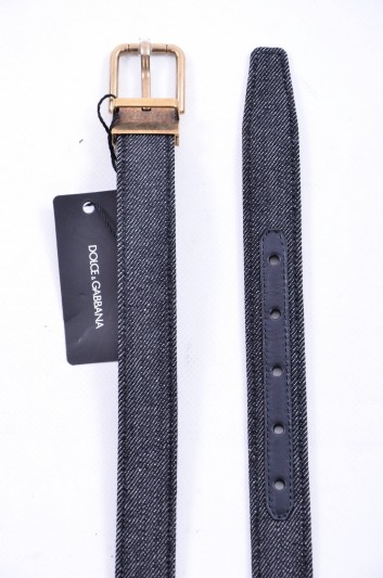 Dolce & Gabbana Men Denim Belt - BC3614 AR269