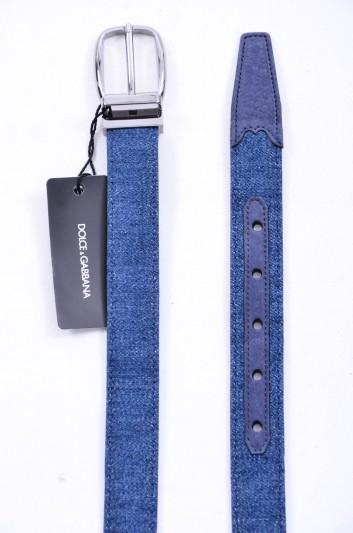 Dolce & Gabbana Men Denim Belt - BC3614 AG448