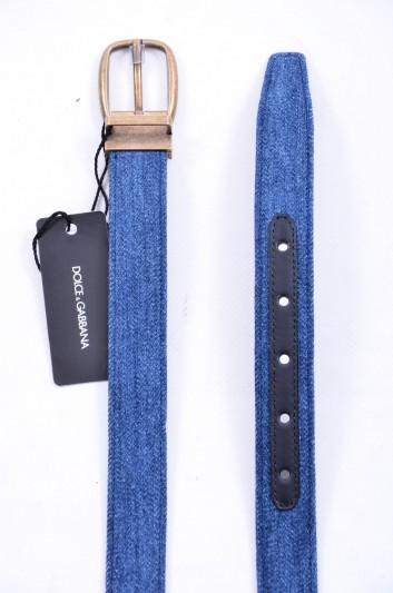 Dolce & Gabbana Men Denim Belt - BC3614 AR269