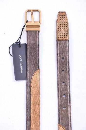 Dolce & Gabbana Men Tacks Belt - BC4131 AB785