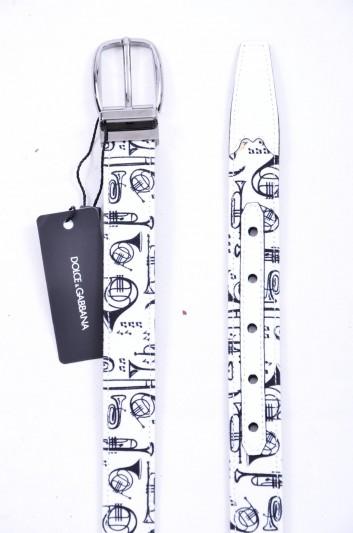 Dolce & Gabbana Cinturón Trompetas Hombre - BC3614 AG447