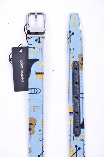 Dolce & Gabbana Cinturón Guitarras Hombre - BC3614 AG373