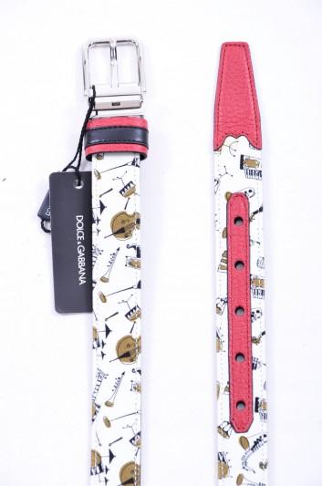 Dolce & Gabbana Cinturón Instrumentos Musicales Hombre - BC3614 AG447