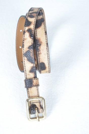 Dolce & Gabbana Cinturón Estampado Leopardo Mujer - BE1009 B7158
