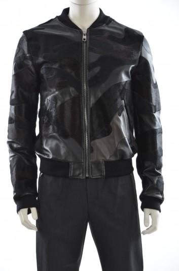 Dolce & Gabbana Men Leather Jacket - G9FC1L GE039