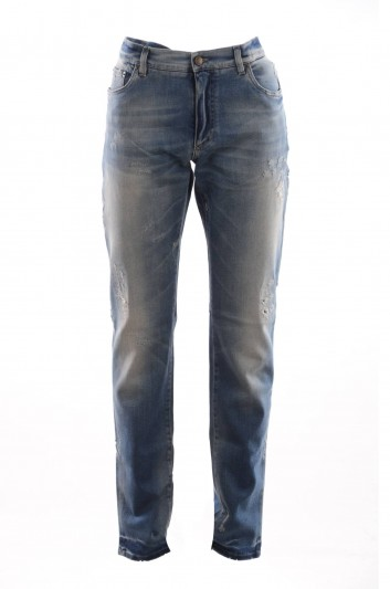 Dolce & Gabbana Men Denim Trousers - G6QJCD G8T26