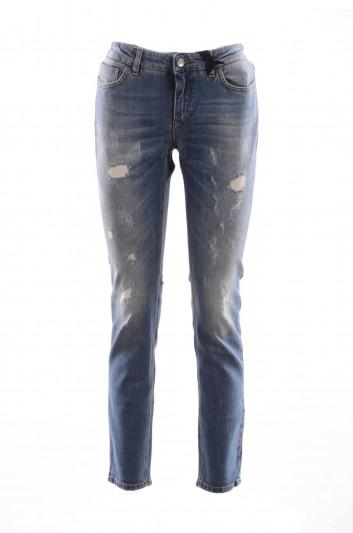 Dolce & Gabbana Women Denim Trousers - FTAQWD G886G
