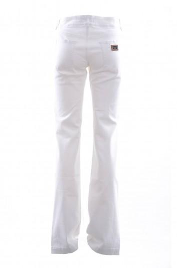Dolce & Gabbana Women Denim Wide Trousers - FTAH9D G8943