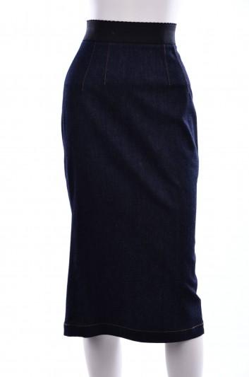 Dolce & Gabbana Women Denim Pencil Skirt - F4AXND G878V