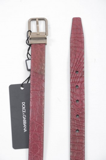 Dolce & Gabbana Men Leather Belt - BC3614 A2E02