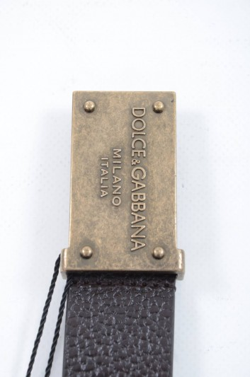 Dolce & Gabbana Men Plate Belt - BC4103 AC661