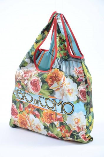 Dolce & Gabbana Women Silk Lago di Como Tote Bag - BB6579 B9I77