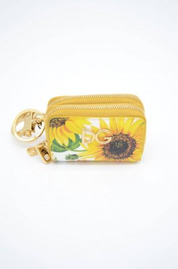 Dolce & Gabbana Women Leather Zipped Bag Key Ring - BI1187 AA590