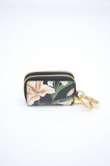 Dolce & Gabbana Women Leather Zipped Bag Key Ring - BI1187 AA201