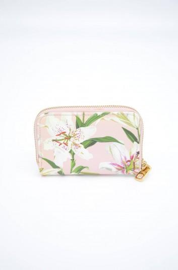 Dolce & Gabbana Women Leather Floral Wallet - BI0460 AA201