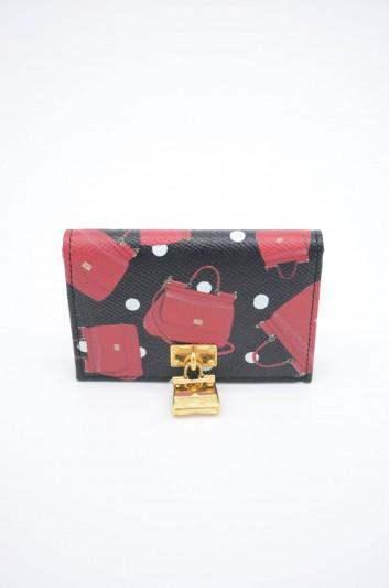 Dolce & Gabbana Women Leather Sicily Wallet - BI0926 AZ754