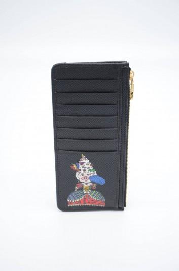 Dolce & Gabbana Women Leather Cardholder - BI1026 AZ892