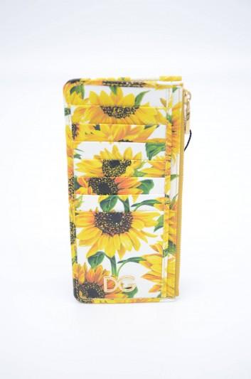 Dolce & Gabbana Women Sunlowers Cardholder - BI1026 AA590