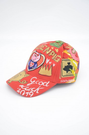 Dolce & Gabbana Men Printed Hat - GH590Z GEF68