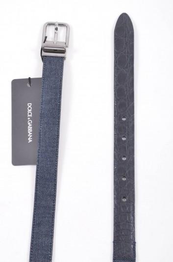 Dolce & Gabbana Men Denim Belt - BC4066 A2D50